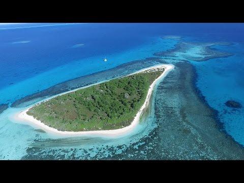 New Caledonia: Cruising the Lagoon. A drone video