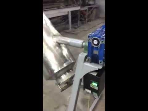 смеситель V-образный миксер на 250 л. для пищевых продуктов из нержавеющей стали Aisi-304