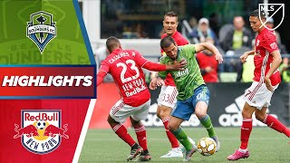 Seattle Sounders FC vs. New York Red Bulls | Late Goals AND Early Goals! | HIGHLIGHTS