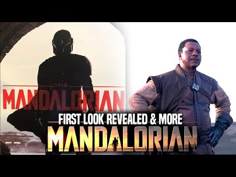 Star Wars The Mandalorian FIRST LOOK! & More (Star Wars TV Series) Mp3