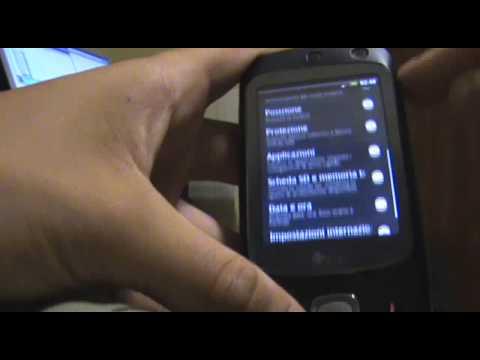 HTC HERO SENSE UI RUNNING ON HTC TOUCH DUAL (HTC NIKE)