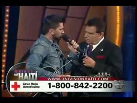 Unidos por Haiti   Juanes  Odio Por Amor