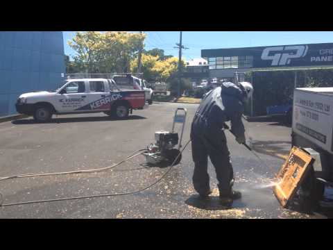 Watch the Awesome Power of the Hyqua Blitz 4000 psi Water