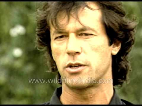 Pakistani cricketer Imran Khan talks about Abdul Qadir
