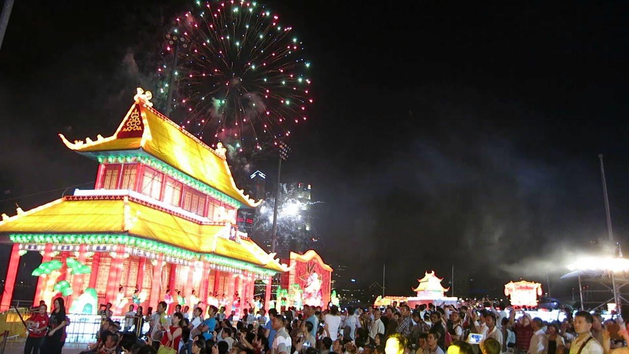 River Hongbao 2014 Chinese New Year Countdown Fireworks ...