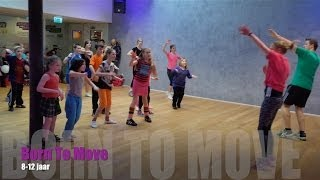 Les Mills BORN TO MOVE™ | 8-12 jaar