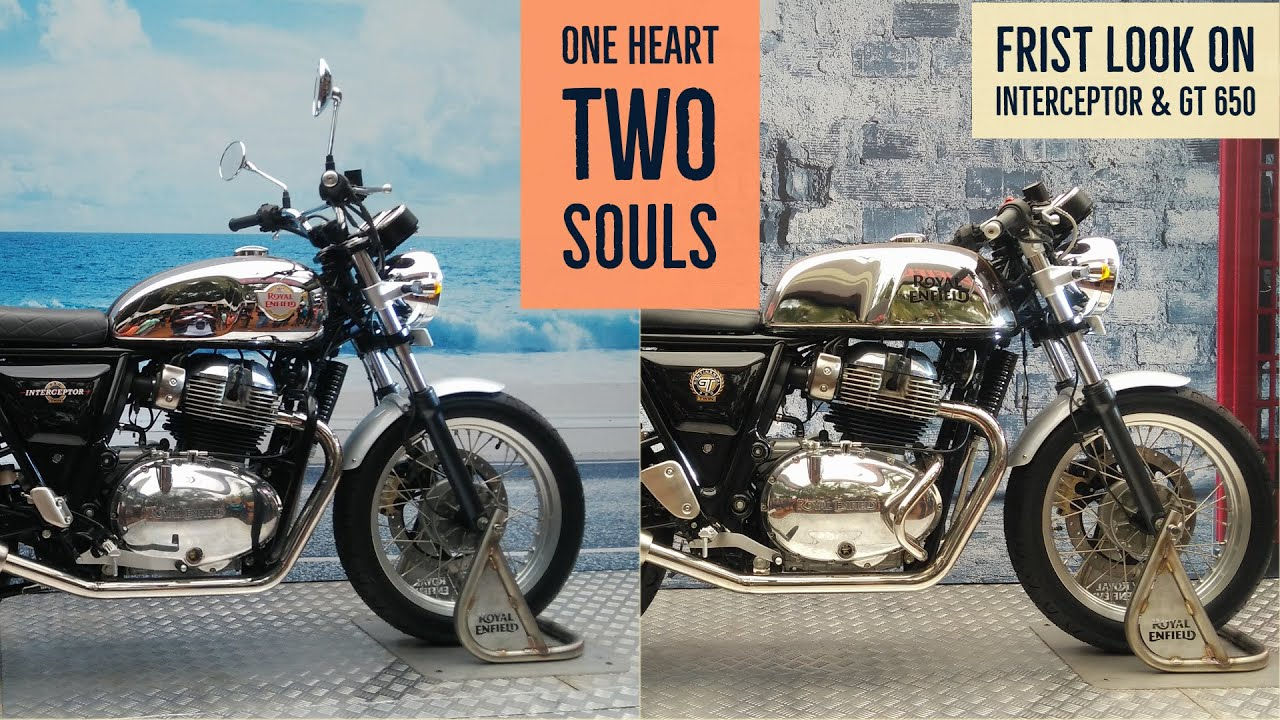 Royal Enfield Interceptor 650 And Continental Gt 650 Rider Mania