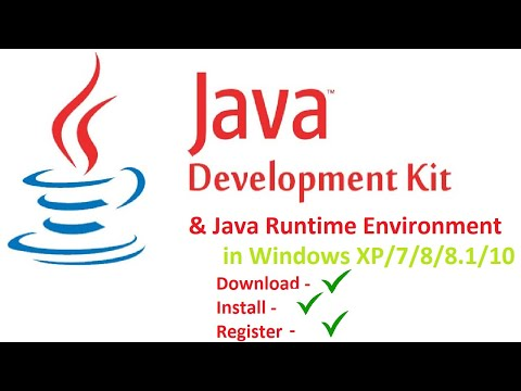 How To Download, Install, Register JAVA JDK In Windows 7/8/8.1/10
