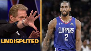 UNDISPUTED | Skip Bayless Insists that Kawhi, Clippers provenn they're the best team in the West