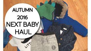 AUTUMN 2016 NEXT BABY BOY SHOPPING HAUL. 9-12 months!