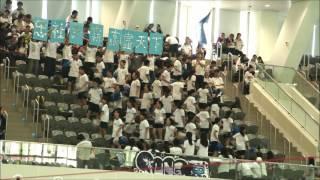 金文泰中學 2016-2017年度水運會 啦啦隊比賽 忠社