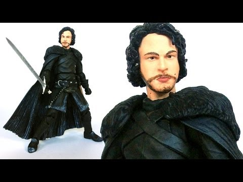 JON SNOW Game Of Thrones Legacy Collection Action Figure Review