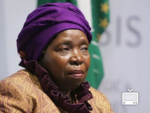 Statesmen's Forum: H.E. Dr. Nkosazana Dlamini Zuma, Chairperson of the African Union Commission