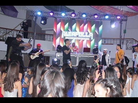 ALTAFULLA En Vivo Teen Travel Colombia MUSIC TRAIN Producciones En Club Campestre Bucaramanga