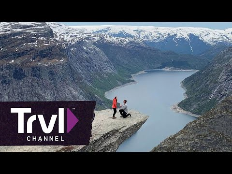 An Edgy Engagement for an Adventurous Couple - Travel Channel