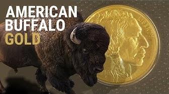 GOLD - American Buffalo 2016 - Eine der besten GOLDMÜNZEN der USA - 1 Unze - Verpackung & Tube