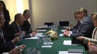 Сергей Лавров и Тимо Сойни | Sergey Lavrov & Timo Soini