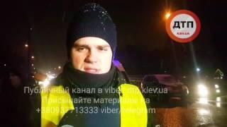 30.11.2016 ДТП КИЕВ ПОБЕДЫ СУЗУКИ ПЕШЕХОД ТРУП