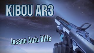 KIBOU AR3 New Auto Rifle - Destiny 2: Warmind DLC PVP Gameplay Review
