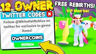 ALL 12 SECRET OWNER CODES IN VACUUM SIMULATOR! Roblox