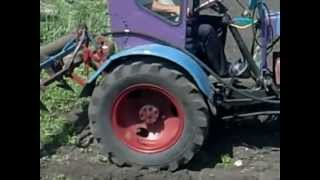 Самодельный трактор (УД-2) Ч.2