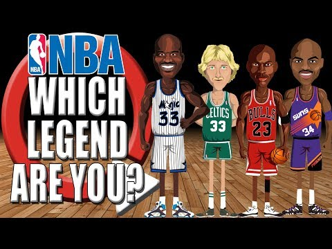 NBA Quiz | Which NBA Legend Are You?