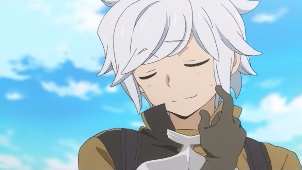 white hair anime characters
