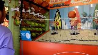 Me Playing basketball at Ocean Park Hong Kong and Winning :)
