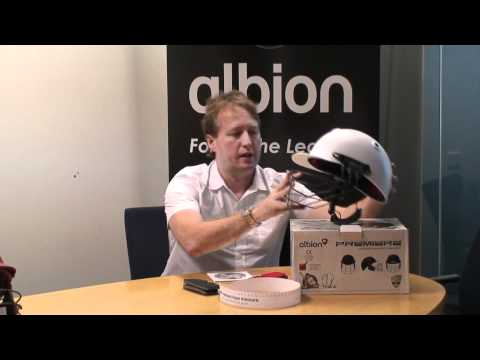 albion premiere cricket helmet review