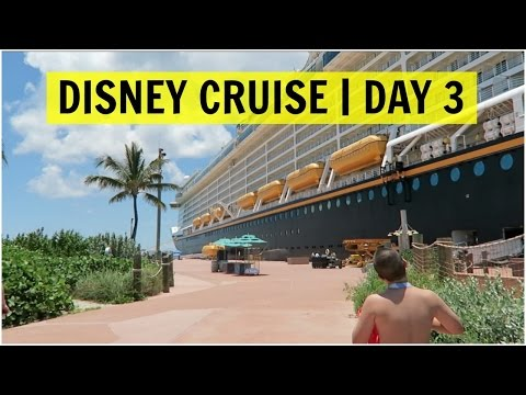 DISNEY DREAM CRUISE 2015 | DAY 3 | CASTAWAY CAY - June 7, 2015