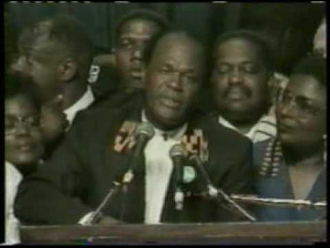 Marion Barry for Mayor Campaign 4th Term
