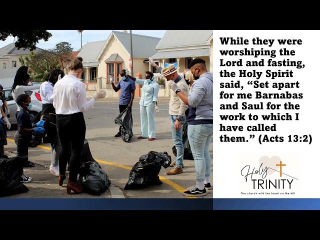Holy Trinity Church Pre-recorded sermon for Sunday 23 May 2021