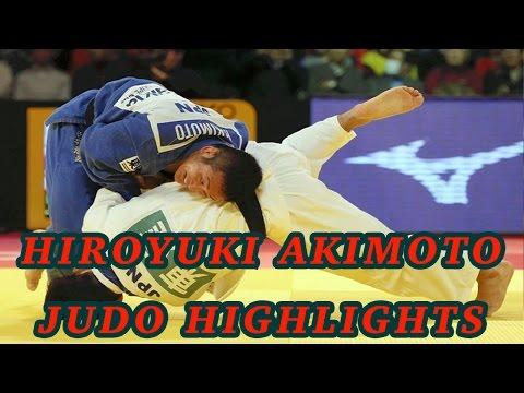 Hiroyuki Akimoto Judo Highlights 2015 - 秋本啓之柔道ハイライト2015年