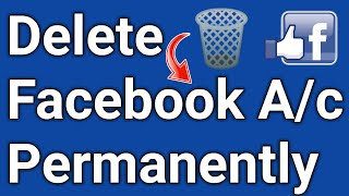 How To Delete 🗑️ FB Account Permanently & Deactivate Fb Account | Temporary disable fb Ac