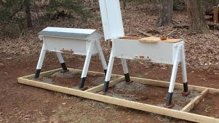 How To Build A Top Bar Beehive Part 2, Free Plans On My Site