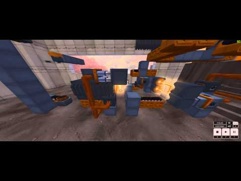 Infinifactory Aerial Combat Shuttle solution