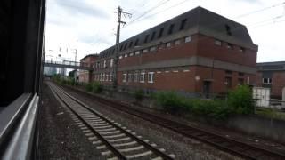Einfahrt Frankfurt am Main im N-Wagen