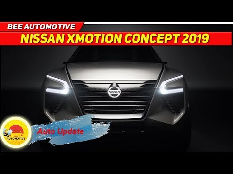 Look This! the Nissan Xmotion concept SUV 2019