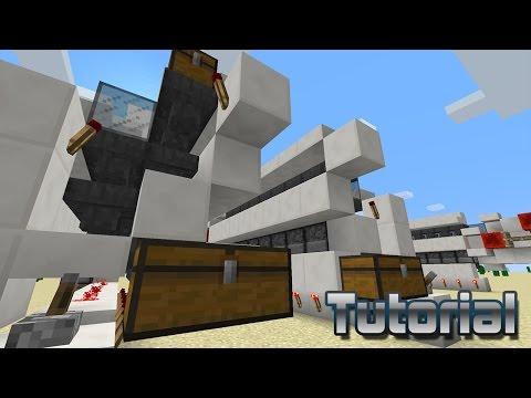 Minecraft Tutorial - Blast Furnace Super Smelter