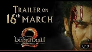 Baahubali 2 The Conclusion Official Trailer Hindi