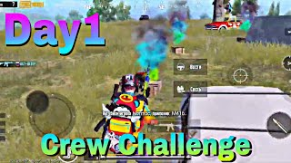 Crew Challenge Day 1 | PARTNERS | PUBG MOBILE