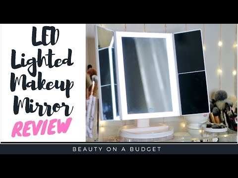 Affordable Daylight Makeup Mirror!!! |  Budget Friendly Makeup Mirror- Innotree Vanity Mirror Review