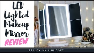 Video Affordable Daylight Makeup Mirror!!! |  Budget Friendly Makeup Mirror- Innotree Vanity Mirror Review download MP3, 3GP, MP4, WEBM, AVI, FLV April 2018