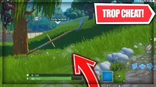"""GLITCH"" be 100% INVISIBLE thanks to the ""Dark Bomb"" on fortnite! Tutorial"