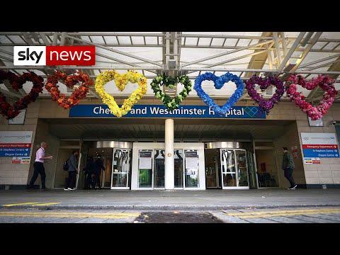 Coronavirus: Number of UK deaths decline from peak