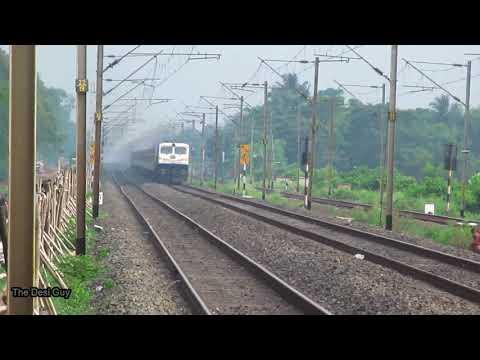 Padatik express || ICF vs LHB run || Indian Raillways
