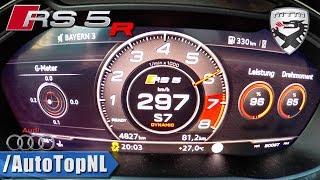Audi RS5 R MTM | 575HP 2.9 TFSI V6 | 0-297km/h ACCELERATION & SOUND by AutoTopNL