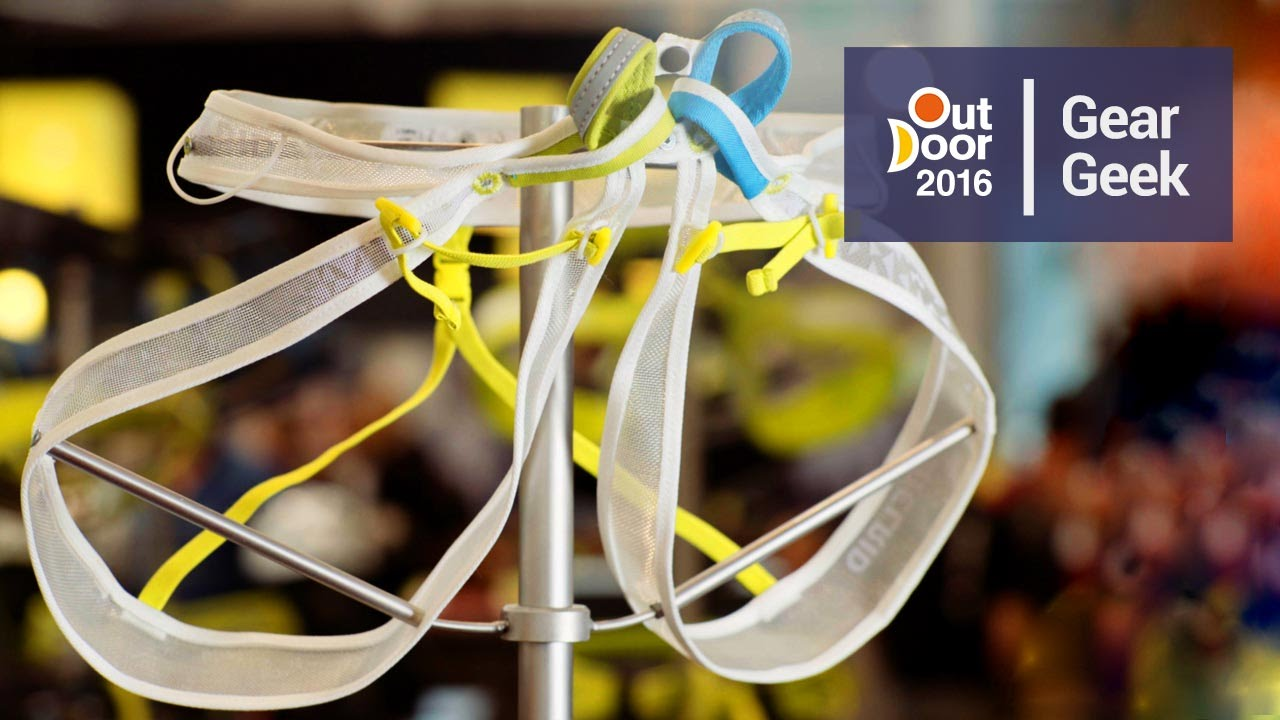 Edelrid Klettergurt Gambit : Edelrid loopo light harness outdoor youtube
