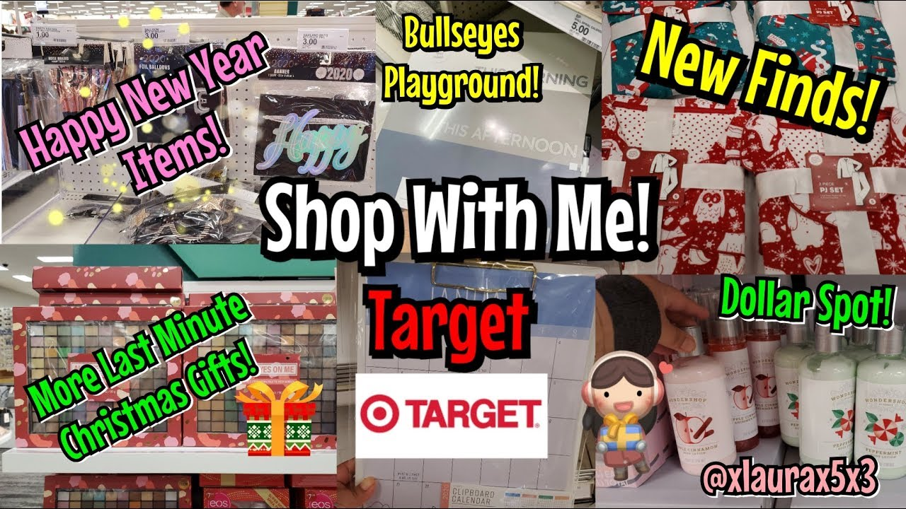 Target Shop With Me! New Finds December 2019 New Years ...