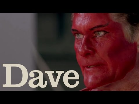 David Hasselhoff Wears Devil Makeup | Hoff the Record | Dave